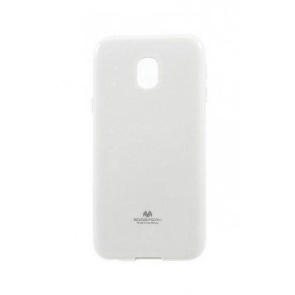 Zadný kryt Mercury Jelly Case na Samsung J3 2017 biely