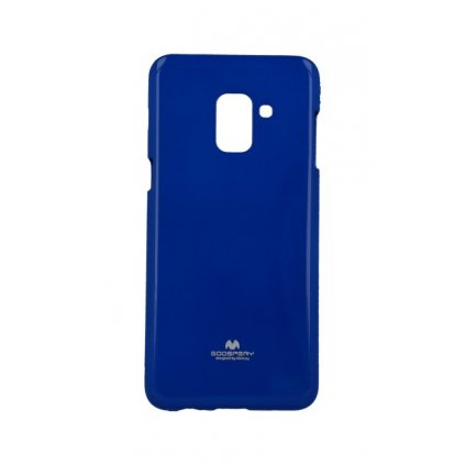 Zadný kryt Mercury Jelly Case na Samsung A8 2018 modrý