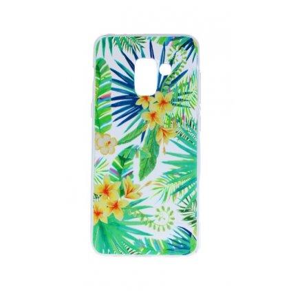 Zadný silikónový kryt na Samsung A8 2018 tropical 2