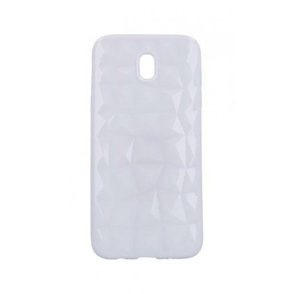 Zadný silikónový kryt Prism Jelly na Samsung J5 2017 biely