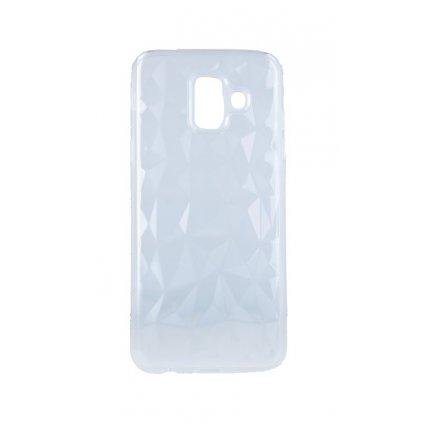 Zadný silikónový kryt Prism Jelly na Samsung A6 priehľadný