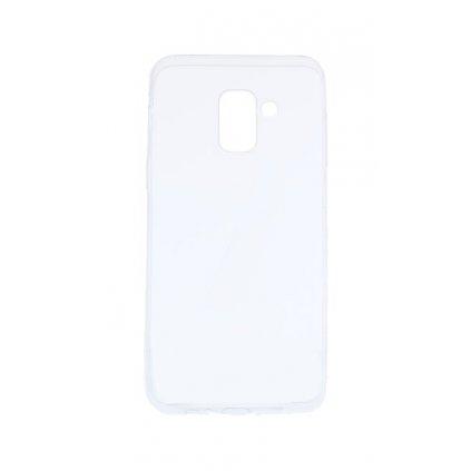 Ultratenký silikónový kryt na Samsung A8 2018 0,3 mm priehľadný