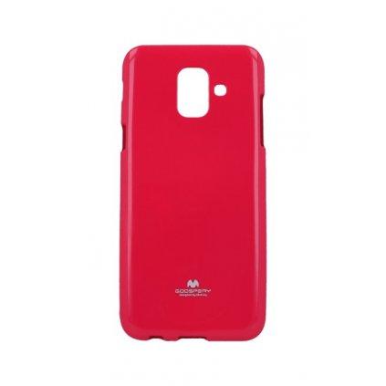 Zadný kryt Mercury Jelly Case na Samsung A6 ružový