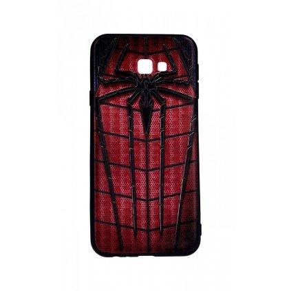 Zadný 3D silikónový kryt na Samsung J4 + Spider-man