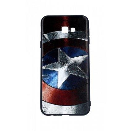 Zadný 3D silikónový kryt na Samsung J4 + Captain America