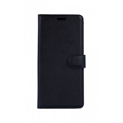 Flipové puzdro na Samsung J4 + čierne s prackou