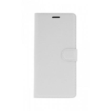 Flipové puzdro na Samsung J4 + biele s prackou