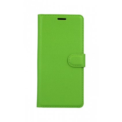 Flipové puzdro na Samsung J4 + zelené s prackou