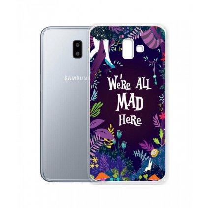 Zadný silikónový kryt na Samsung J6 + Mad