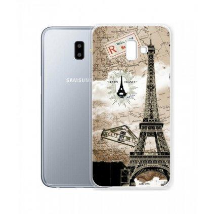 Zadný silikónový kryt na Samsung J6 + Paris 2
