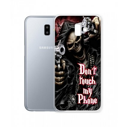 Zadný silikónový kryt na Samsung J6 + Smrťák