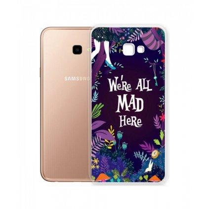 Zadný silikónový kryt na Samsung J4 + Mad