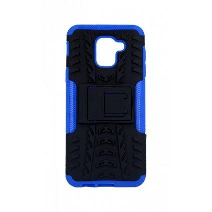 Zadný kryt na Samsung J6 so stojanom modrý