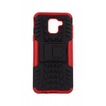 Zadný kryt na Samsung J6 so stojanom červený