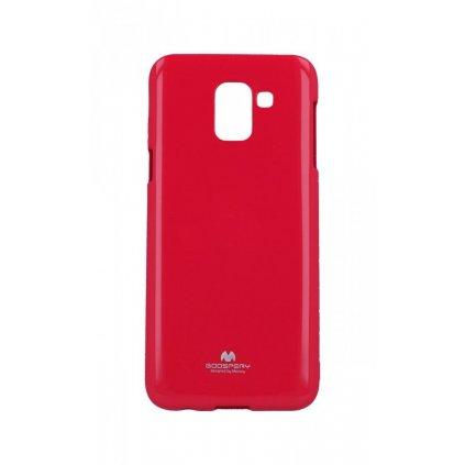 Zadný kryt Mercury Jelly Case na Samsung J6 ružový
