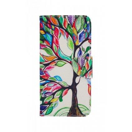 Flipové puzdro na Samsung J6 + Farebný strom