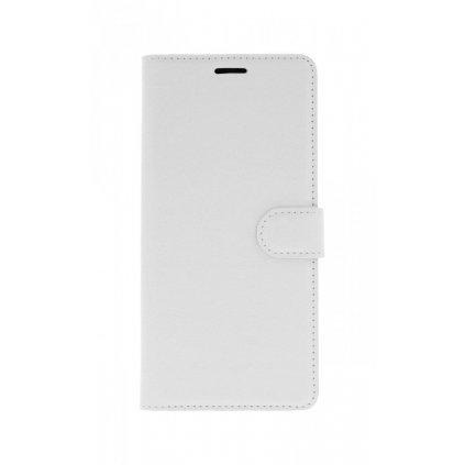 Flipové puzdro na Samsung J6 + biele s prackou