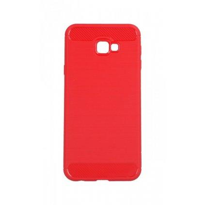 Zadný silikónový kryt na Samsung J4 + červený