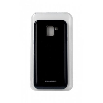 Zadný silikónový kryt Molan Cano Jelly na Samsung J6 čierny