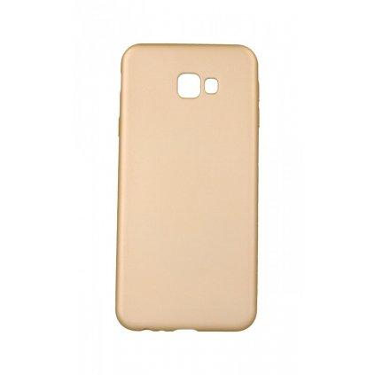 Zadný silikónový kryt na Samsung J4 + soft zlatý