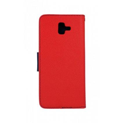 Flipové puzdro na Samsung J4 + červené