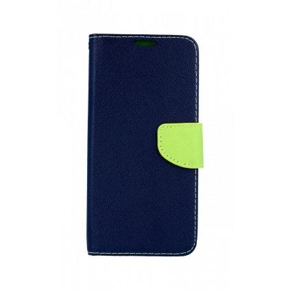 Flipové puzdro na Samsung J6 + modré textilné