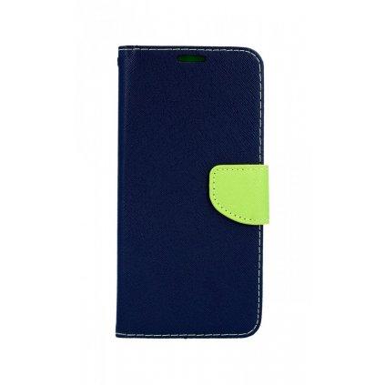 Flipové puzdro na Samsung J4 + modré textilné