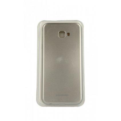 Zadný silikónový kryt Molan Cano Jelly na Samsung J4 + zlatý