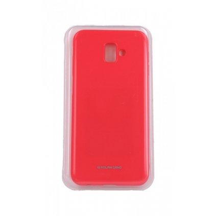 Zadný silikónový kryt Molan Cano Jelly na Samsung J6 + ružový