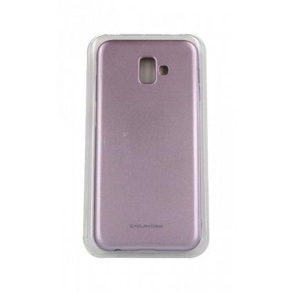 Zadný silikónový kryt Molan Cano Jelly na Samsung J6 + ružový svetlý