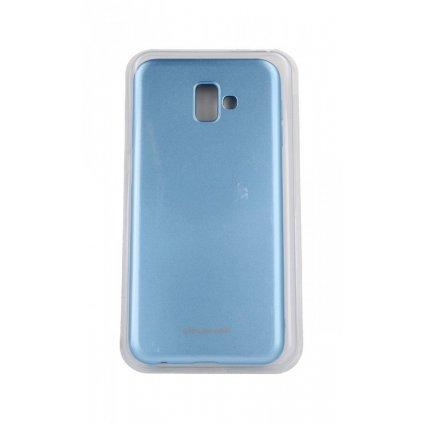 Zadný silikónový kryt Molan Cano Jelly na Samsung J6 + modrý svetlý