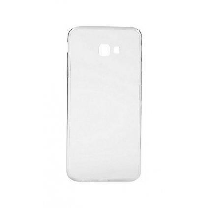 Ultratenký silikónový kryt na Samsung J4 + 0,3 mm priehľadný