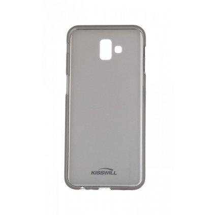 Zadný silikónový kryt Kisswill na Samsung J6 + tmavý