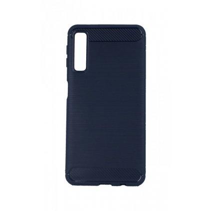 Zadný silikónový kryt na Samsung A7 modrý