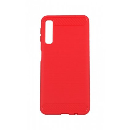 Zadný silikónový kryt na Samsung A7 červený