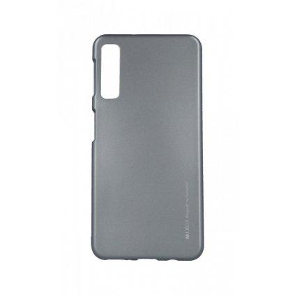 Zadný kryt Mercury iJelly Metal na Samsung A7 šedý