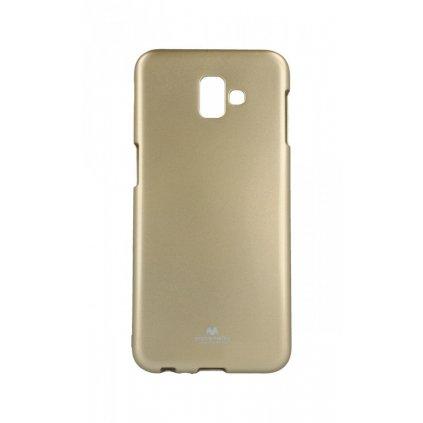 Zadný kryt Mercury Jelly Case na Samsung J6 + zlatý