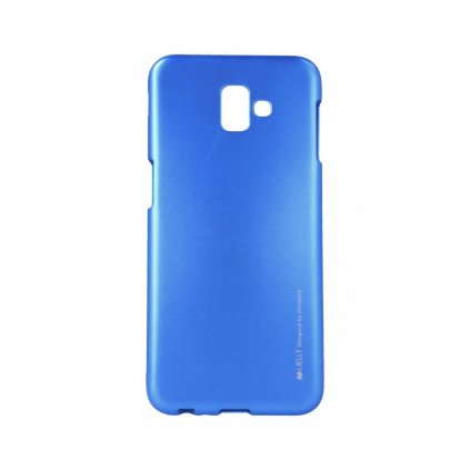 Zadný kryt Mercury iJelly Metal na Samsung J6 + modrý