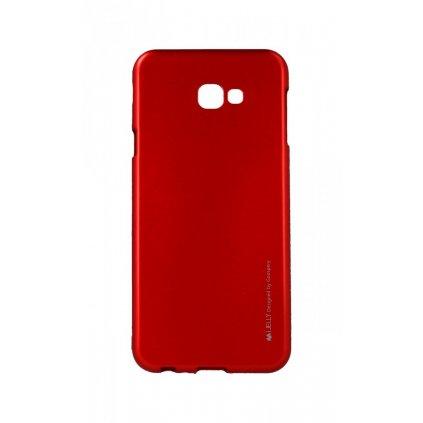 Zadný kryt Mercury iJelly Metal na Samsung J4 + červený