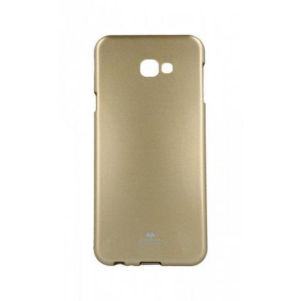 Zadný kryt Mercury Jelly Case na Samsung J4 + zlatý