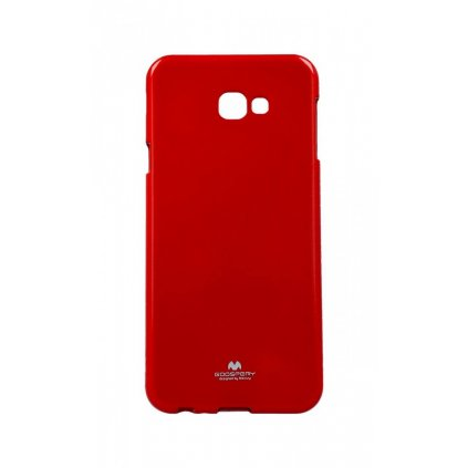 Zadný kryt Mercury Jelly Case na Samsung J4 + červený