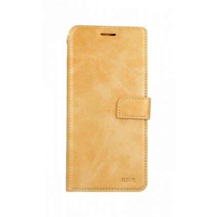 Flipové puzdro Molan Cano Issue Diary na Samsung J6 + zlaté