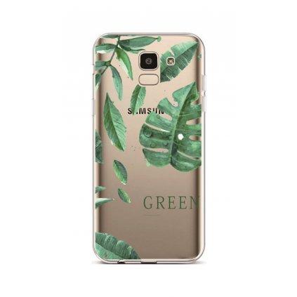 Zadný silikónový kryt na Samsung J6 Summer Tropico
