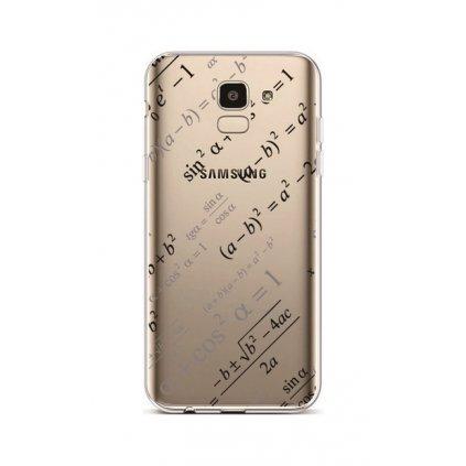 Zadný silikónový kryt na Samsung J6 Maths