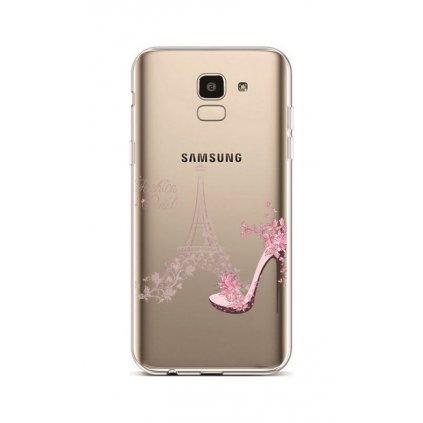 Zadný silikónový kryt na Samsung J6 Fashion Paris