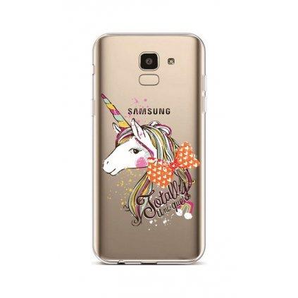 Zadný silikónový kryt na Samsung J6 Totally Uni-que