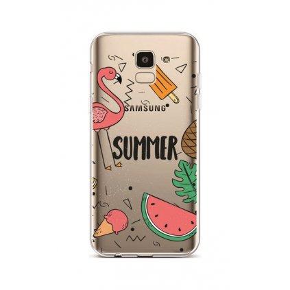 Zadný silikónový kryt na Samsung J6 Summer