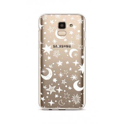 Zadný silikónový kryt na Samsung J6 Night Sky