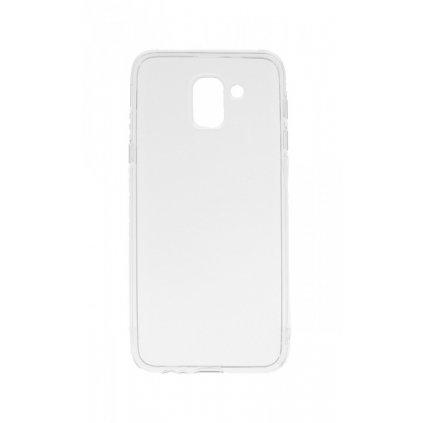 Zadný kryt Swissten Clear Jelly na Samsung J6 priehľadný