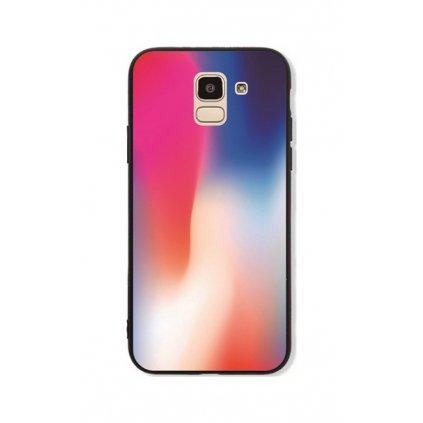 Zadný pevný kryt GLASS na Samsung J6 Colors